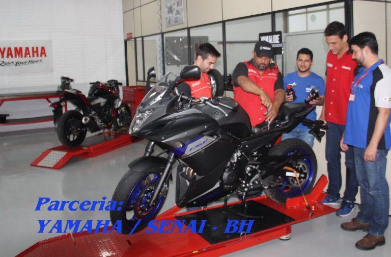 Yamaha faz parceria com o Senai BH