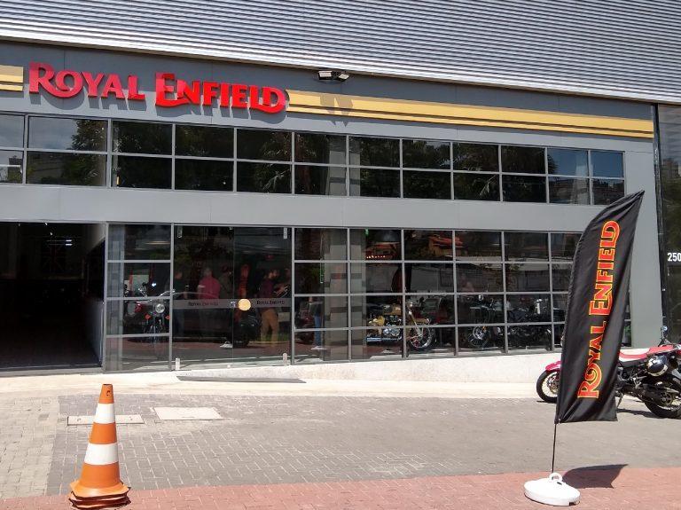 BH recebe concessionária Royal Enfield