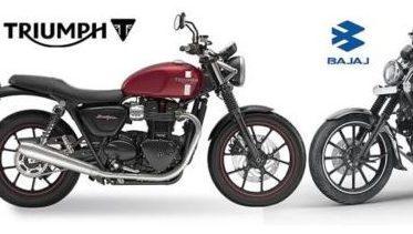 Triumph e Bajaj iniciam parceria: motos de 200 a 750 virão