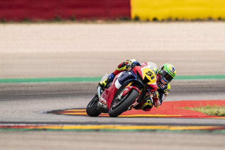 Eric Granado vai ao pódio pela 2ª vez no Espanhol de Superbike 2021