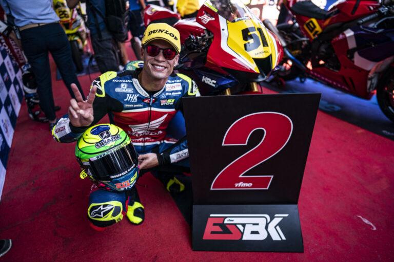 Eric Granado é segundo no Superbike Espanhol