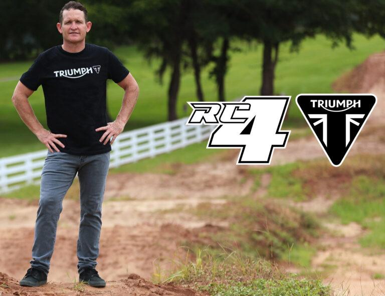 Triumph tem intenção de competir no Motocross e no Enduro