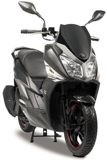 Novo scooter Dafra Cruisym 150